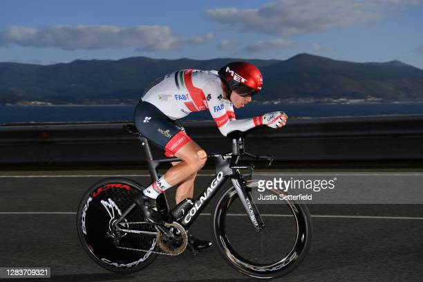 David de la Cruz Melgarejo of Spain and UAE Team Emirates / during the 75th Tour of Spain 2020, Stage 13 a 33,7km Individual Time Trial stage from...