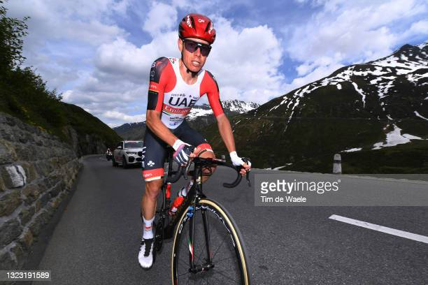 David De La Cruz Melgarejo of Spain and UAE Team Emirates during the 84th Tour de Suisse 2021, Stage 7 a 23,2km Individual Time Trial stage from...