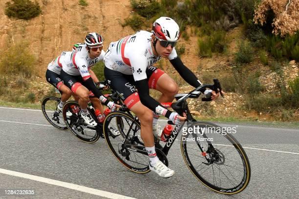 David de la Cruz Melgarejo of Spain and UAE Team Emirates / Ivo Oliveira of Portugal and UAE Team Emirates / during the 75th Tour of Spain 2020,...