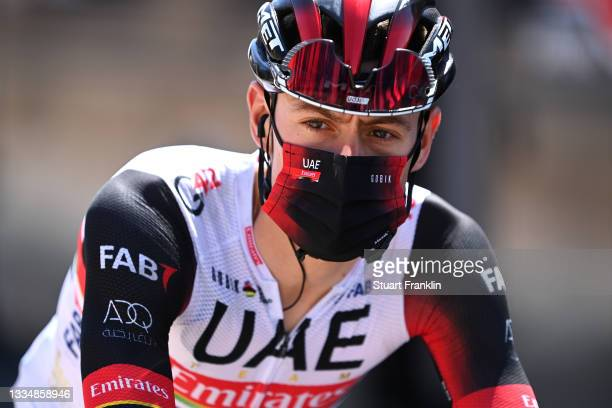 David De La Cruz Melgarejo of Spain and UAE Team Emirates prior to the 76th Tour of Spain 2021, Stage 5 a 184,4km stage from Tarancón to Albacete /...