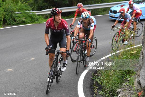 David de la Cruz of Spain and Team Ineos / Pierre Latour of France and Team AG2R La Mondiale / during the 74th Tour of Spain 2019 Stage 9 a 944km...