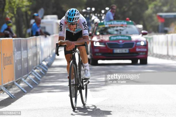 David De La Cruz of Spain and Team Sky / during the 73rd Tour of Spain 2018 Stage 4 a 1614km stage from VelezMalaga to Alfacar Sierra de la Alfaguara...