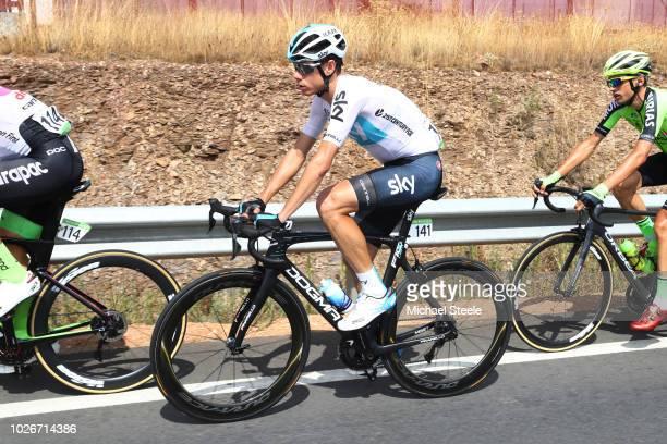 David De La Cruz of Spain and Team Sky / during the 73rd Tour of Spain 2018 Stage 10 a 177km stage from Salamanca VIII Centenario Universidad de...