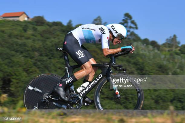 David De La Cruz of Spain and Team Sky / during the 73rd Tour of Spain 2018 Stage 16 a 32km Individual Time Trial stage from Santillana del Mar to...
