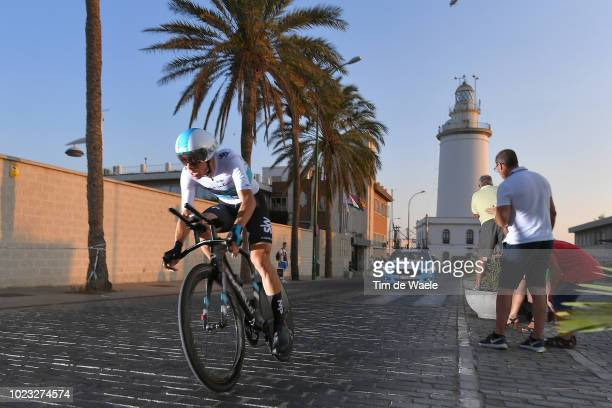 David De La Cruz of Spain and Team Sky / Lighthouse / during the 73rd Tour of Spain 2018 Stage 1 a 8km Individual Time Trial from Malaga to Malaga /...