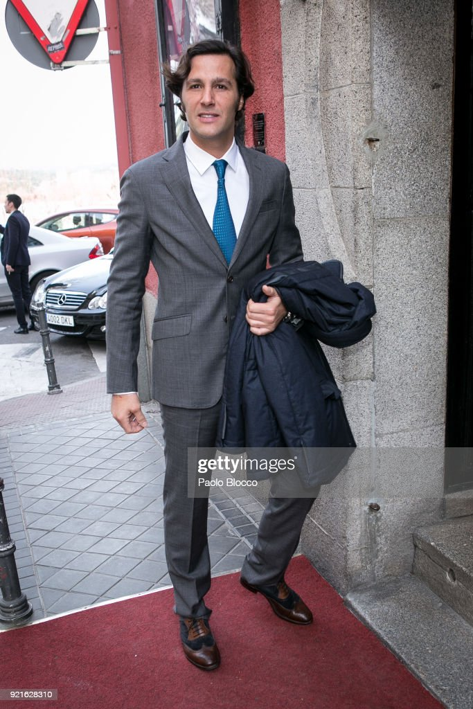 David de Mora attends 'Pata Negra' awards at the Corral de la Moreria club on February 20, 2018 in Madrid, Spain.