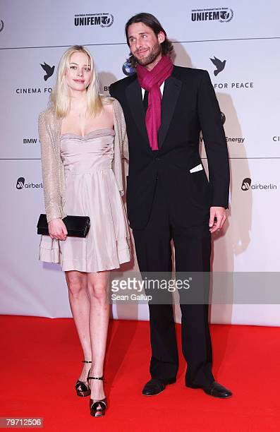 David de Rothchild and Annabelle Horsey during 7th Annual Cinema For Peace Gala sponsored by BMW CleanEnergy as part of the 58th Berlinale...
