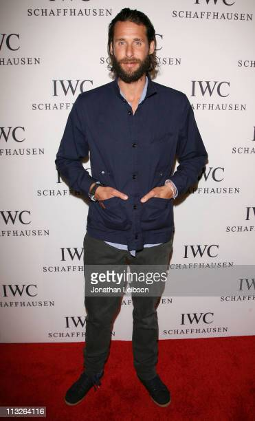 David de Rothschild arrives to the IWC Schaffhausen Presents Peter Lindbergh's Portofino at Culver Studios on April 28 2011 in Culver City California