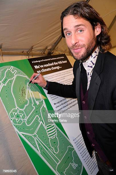 David de Rothschild attends Global Green USA's 5th Annual Pre Oscar Party raising awareness about smart climate solutions and benefiting the green...