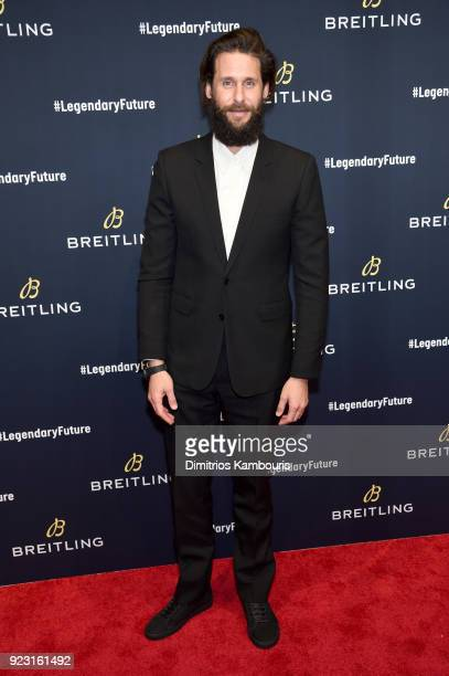 David de Rothschild on the red carpet at the '#LEGENDARYFUTURE' Roadshow 2018 New York on February 22 2018