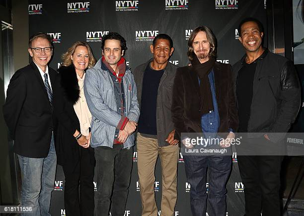 David Dean Bottrell Marshall Persinger Luke Kirby Scott Lawrence Ray McKinnon and John Marshall Jones attend 12th Annual New York Television Festival...