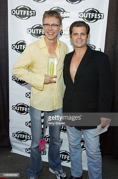 David Dean Bottrell, recipient of Outfest award for Outstanding Narrative Short, and Jeff Stryker