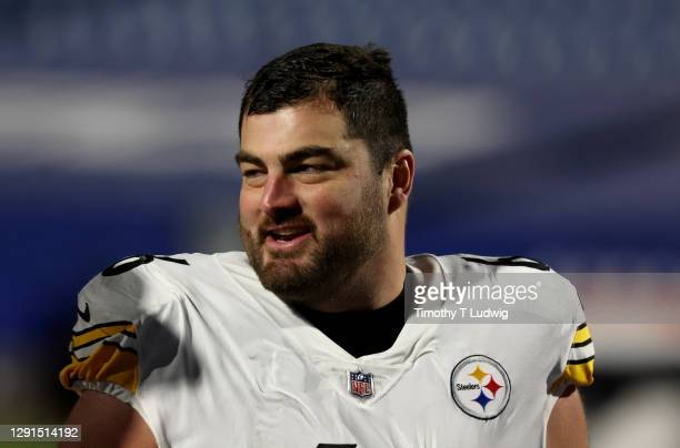David DeCastro of the Pittsburgh Steelers after a game against the Buffalo Bills at Bills Stadium on December 13, 2020 in Orchard Park, New York.