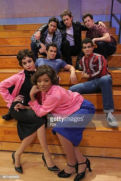 LIVE David Del Rio as 'Putzie' Aaron Tveit as 'Danny Zuko Andrew Call as Sonny Jordan Fisher as Doody Keke Palmer 'Marty' Vanessa Hudgens as 'Rizzo'...