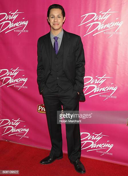 """David Del Rio attends Opening Night Of """"Dirty Dancing The Classic Story On Stage"""" at the Pantages Theatre on February 2, 2016 in Hollywood,..."""
