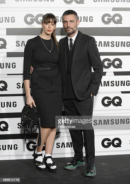 David Delfin and guest attend the GQ Men Of The Year Awards at The Palace Hotel on November 5 2015 in Madrid Spain