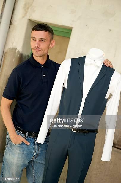 David Delfin attends a presentation of the new 'Iberostar Hotel' uniforms on June 28 2011 in Madrid Spain