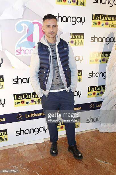 David Delfin attends Shangay Magazine 20th Anniversary in Madrid at teatro Nuevo Alcala on December 10 2013 in Madrid Spain