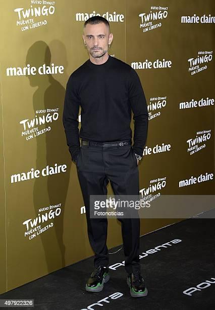 David Delfin attends the 2015 Marie Claire Prix de la Mode at Callao Cinema on November 19 2015 in Madrid Spain