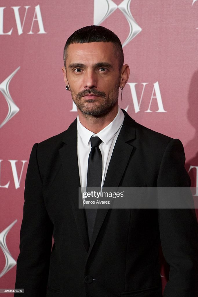 David Delfin attends the 'Telva Beauty' 2014 awards at the Royal Teather on December 2, 2014 in Madrid, Spain.