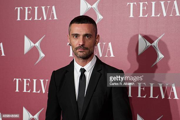 David Delfin attends the 'Telva Beauty' 2014 awards at the Royal Teather on December 2 2014 in Madrid Spain