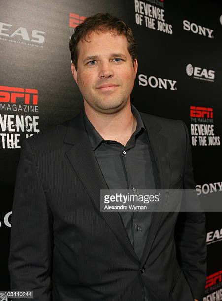 David Denman at ESPN The Magazine's 'Revenge Of The Jocks' party presented by Sony held at The X Bar on June 4 2008 in Century City California