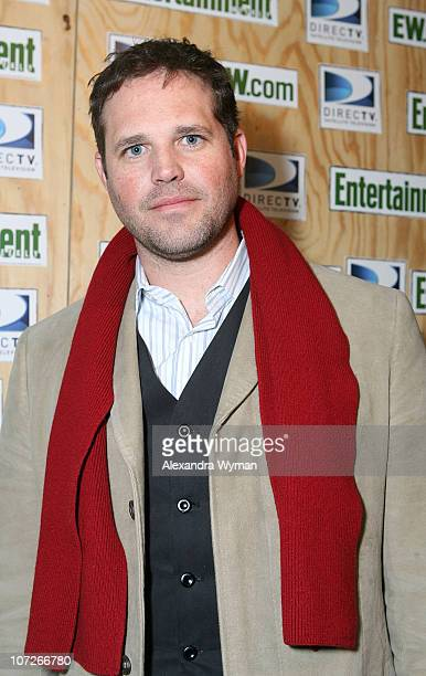 David Denman attends Entertainment Weekly's Sundance opening weekend party sponsored by DIRECTV at The Legacy Lodge on January 19 2008 in Park City...