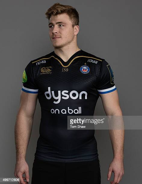 David Denton of Bath poses for a picture during the Bath Rugby photocall at Farleigh House on December 1 2015 in Bath England