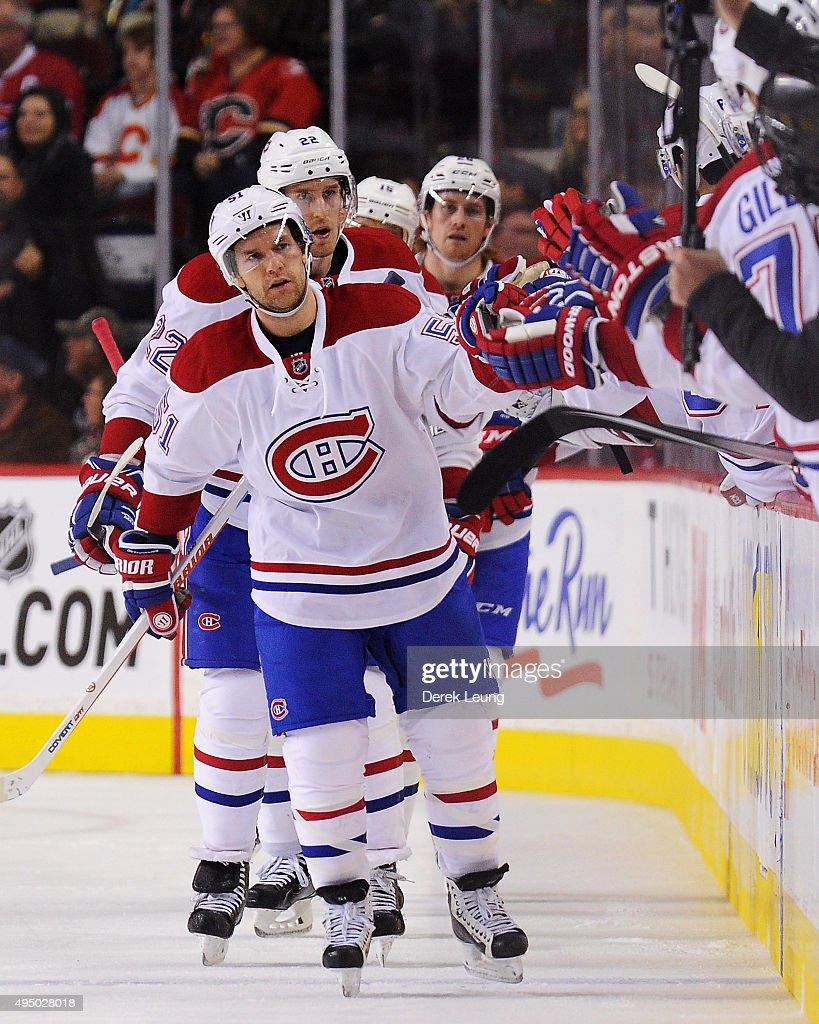 Montreal Canadiens v Calgary Flames : News Photo