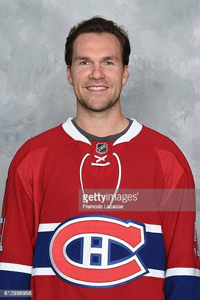 David Desharnais of the Montreal Canadiens poses for his official headshot for the 20162017 season on September 22 2016 at the Bell Sports Complex in...