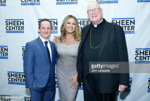 David Di Certo Vanessa Williams and Cardinal Timothy Dolan attend Sheen Center presents Vanessa Williams Friends thankful for Christmas with guests...