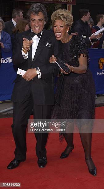 David Dickenson and his wife Lorne Lesley attend the TV Bafta awards at Palladium Theatre