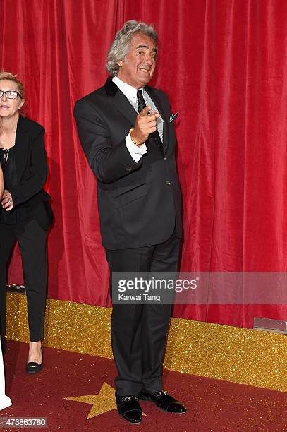 David Dickinson attends the British Soap Awards at Manchester Palace Theatre on May 16 2015 in Manchester England