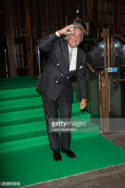 David Dickinson attends the Spectacle Wearer of the Year awards on October 11 2016 in London England