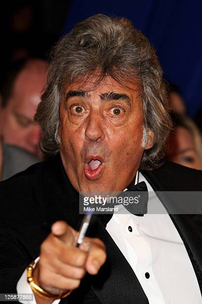 David Dickinson attends the The National Television Awards at the O2 Arena on January 26 2011 in London England