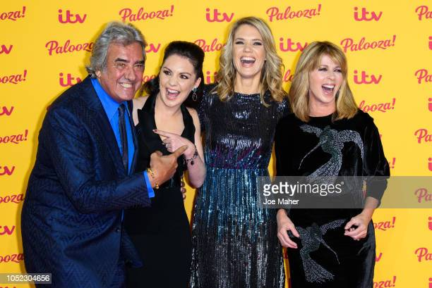 David Dickinson Laura Tobin Charlotte Hawkins and Kate Garraway attend the ITV Palooza held at The Royal Festival Hall on October 16 2018 in London...