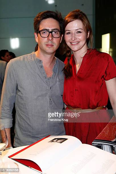 David Dietl and Katrin Bauerfeind attend the Munich Film Festival 2013 'Foerderpreis Neues Deutsches Kino' at BMW Museum on July 05 2013 in Munich...