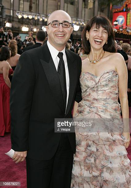 David Dinerstein and Ruth Vitale during The 77th Annual Academy Awards - Executive Arrivals at Kodak Theatre in Hollywood, California, United States.