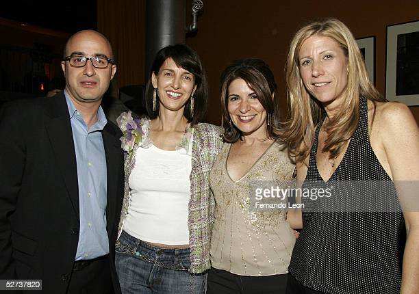 David Dinerstein Ruth Vitale copresident Paramount Pictures Classics director Marilyn Agrelo and producer Amy Sewell attend the 'Mad Hot Ballroom'...