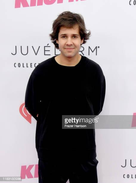 David Dobrik attends 2019 iHeartRadio Wango Tango presented by The JUVÉDERM® Collection of Dermal Fillers at The Dignity Health Sports Park on June...