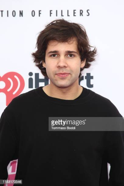 David Dobrik attends 2019 iHeartRadio Wango Tango presented by The JUVÉDERM® Collection of Dermal Fillers at Dignity Health Sports Park on June 01...