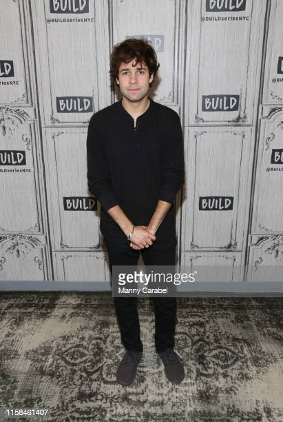 David Dobrik attends Build Brunch to discuss his recent and upcoming collaborations on YouTube at Build Studio on June 26 2019 in New York City