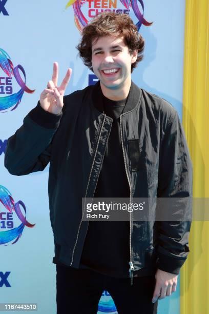 David Dobrik attends FOX's Teen Choice Awards 2019 on August 11 2019 in Hermosa Beach California