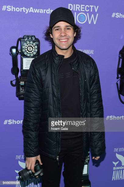 David Dobrik attends the 10th Annual Shorty Awards at PlayStation Theater on April 15 2018 in New York City