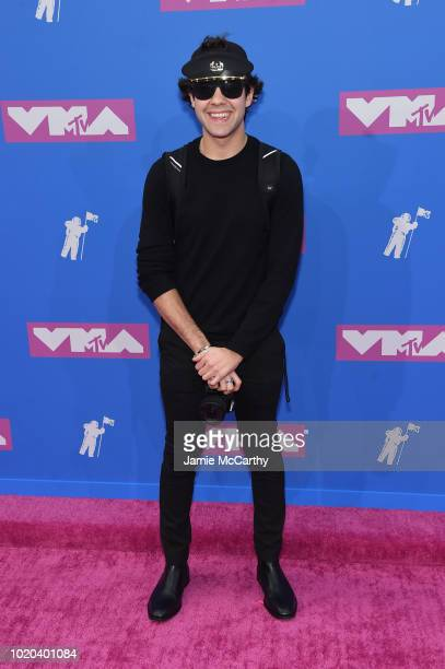 David Dobrik attends the 2018 MTV Video Music Awards at Radio City Music Hall on August 20 2018 in New York City
