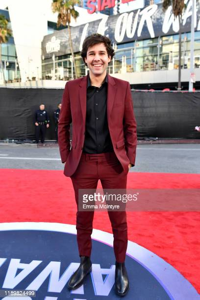 David Dobrik attends the 2019 American Music Awards at Microsoft Theater on November 24 2019 in Los Angeles California