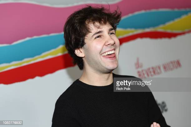 David Dobrik attends The 8th Annual Streamy Awards at The Beverly Hilton Hotel on October 22 2018 in Beverly Hills California