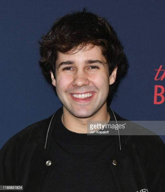 David Dobrik attends the 9th Annual Streamy Awards at The Beverly Hilton Hotel on December 13 2019 in Beverly Hills California