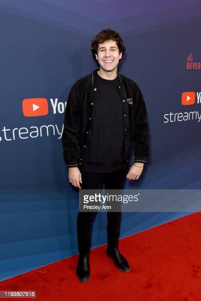 David Dobrik attends The 9th Annual Streamy Awards on December 13 2019 in Los Angeles California