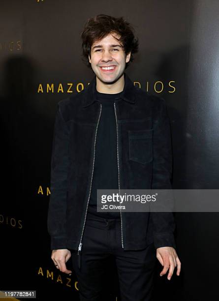 David Dobrik attends the Amazon Studios Golden Globes After Party at The Beverly Hilton Hotel on January 05 2020 in Beverly Hills California